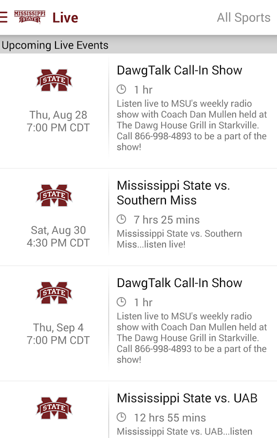 MSU Athletics: Free- screenshot