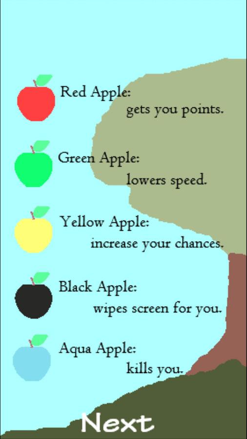 Falling Apples 2- screenshot
