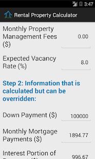 income property calculator