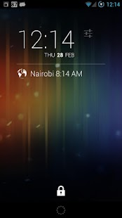WorldClock for DashClock - screenshot thumbnail