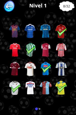 Futbol Team Logos Quiz - screenshot