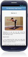Screenshot of Belly Fat Burning Yoga Workout