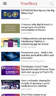 YourStory - screenshot thumbnail
