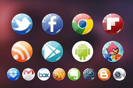 Lenses Icon Pack Theme v1.0.0
