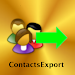 Contacts Export Icon