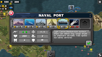 Screenshot of Glory of Generals :Pacific