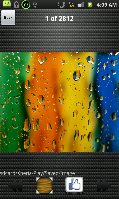 HD Wallpapers for Xperia Play- screenshot