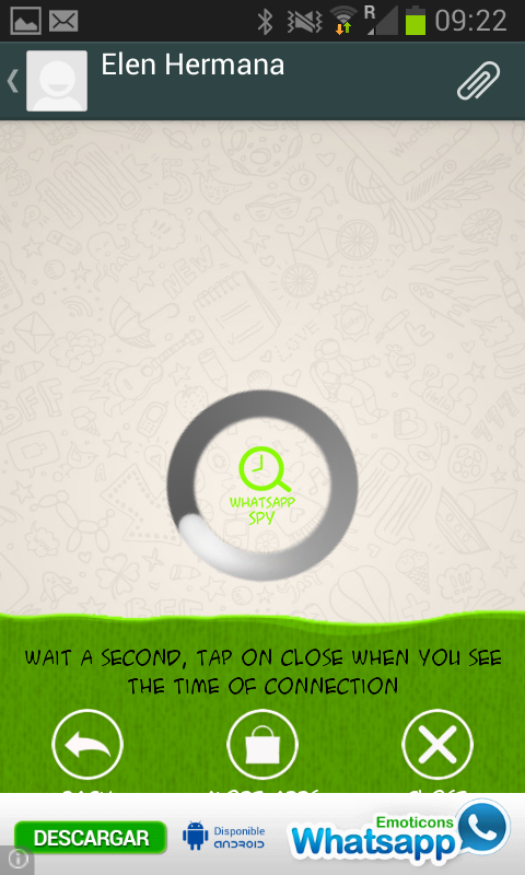 hide connections - screenshot