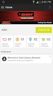 Giant Express Rewards - screenshot thumbnail