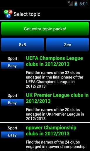 Qizzle pack football english