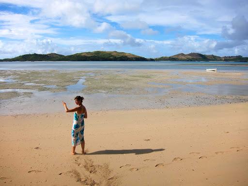 beach-matacawalevu-fiji - Matacawalevu beach, Fiji.