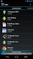 Screenshot of App Setting