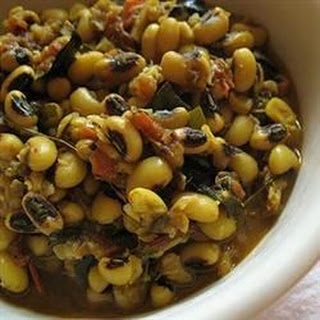 Black-Eyed Peas Spicy Style