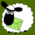 Sheep Farm Theme GO SMS icon