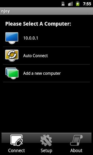njoy android application connecting nJoy Spravte joystick zo svojho Android zariadenia