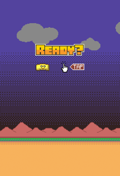 Flying Burrito - A Flappy Game - screenshot