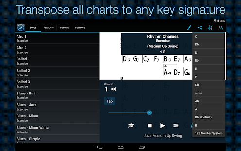 IReal Pro MusicBook-PlayAlong