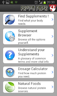 Protein Finder - screenshot thumbnail