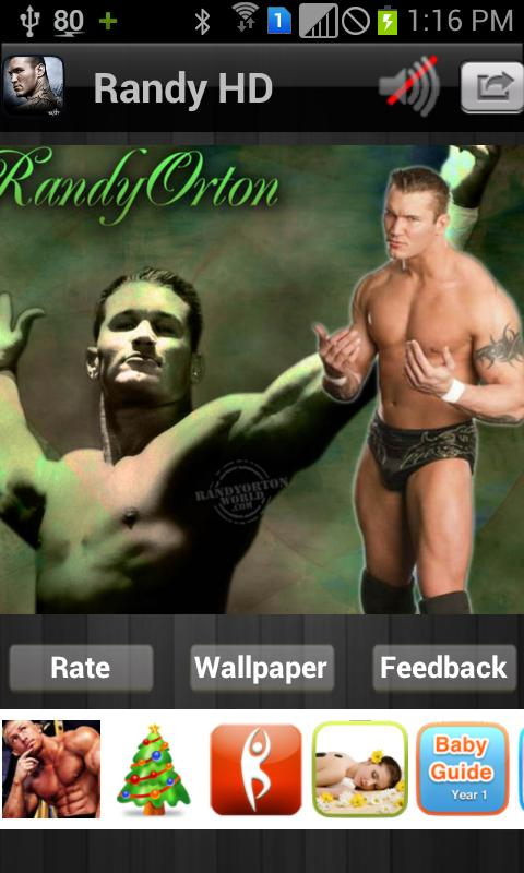 Randy Orton Hd Wallpaper Free - screenshot