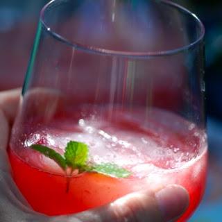 Watermelon-Raspberry-Ginger Cooler
