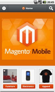 Magento Store Mobile - screenshot thumbnail