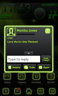 How to get Neon Green Style Go Sms 1.3 unlimited apk for pc