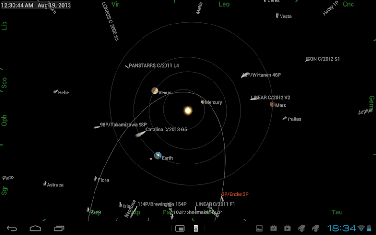 Screenshots for Mobile Observatory  Astronomy