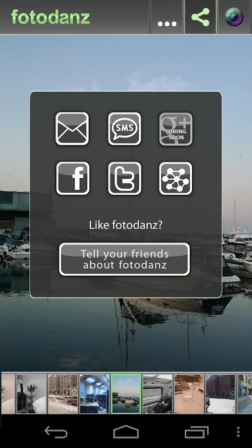 fotodanz – Screenshot