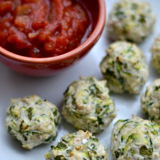 Turkey Zucchini Poppers.