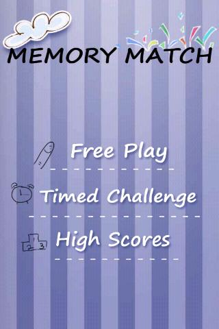 Memory for Kids - screenshot