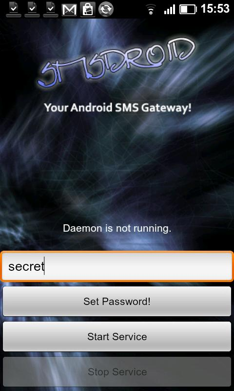 SMSDroid - screenshot