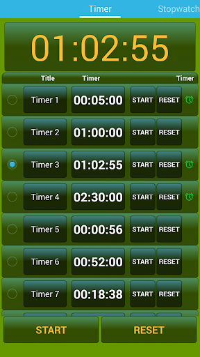 定時器和秒錶 Timer Stopwatch