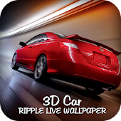 3D Car Ripple Live Wallpaper