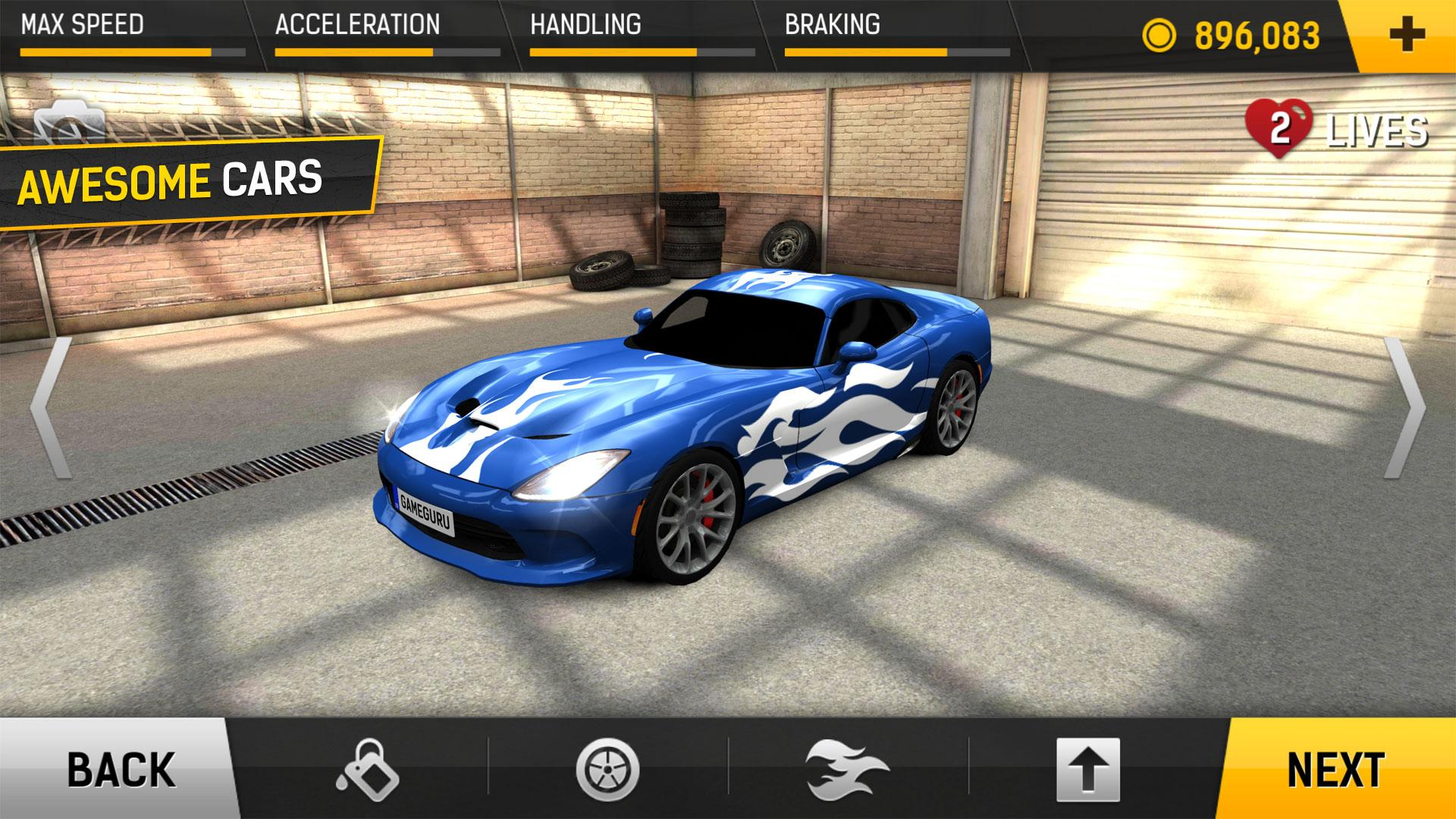 Racing Fever (MOD, Unlimited Money) 3