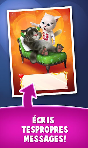 Lettres d'amour de Talking Tom  captures d'écran 4