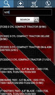 Equipment Parts Diagrams - screenshot thumbnail