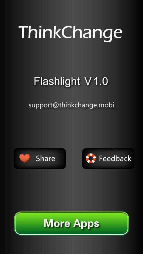 LED FlashLight ☀ - screenshot