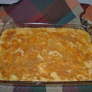Cheesy Chicken Pasta Casserole.