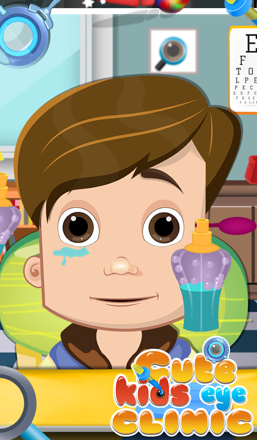Cute Kids Eye Clinic- screenshot