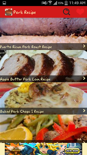 Pork Recipes Free