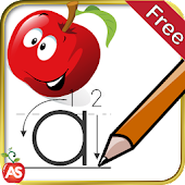 Kids Learn Write Letters - ABC