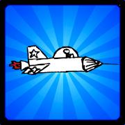 Doodle Rocket Ship