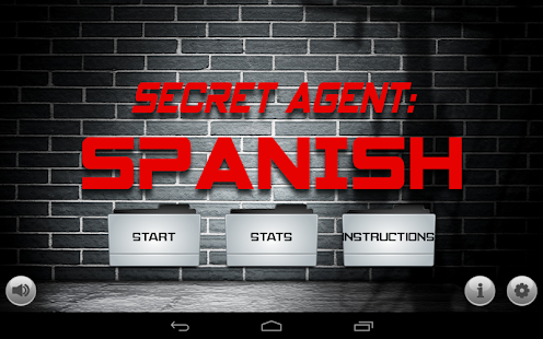Secret Agent: Spanish Lite