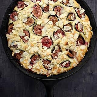Fresh Fig and Almond Breakfast Cake.