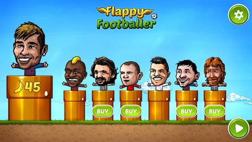 Flappy Footballer-Hand Puppets