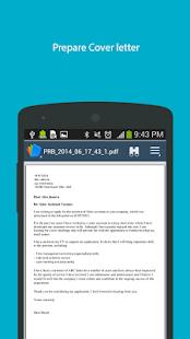 perfect resume builder screenshot thumbnail