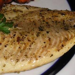 Tilapia Fish Fillets with Sesame Sauce Recipe