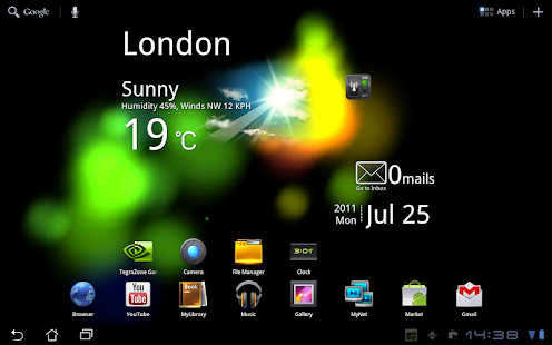Crazy Colors Live Wallpaper Screenshot
