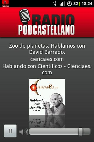 Radio Podcastellano - screenshot