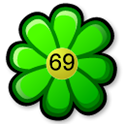 Flower battery widget icon